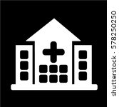 hospital icon   Shutterstock .eps vector #578250250