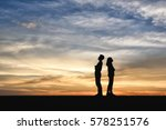 Divorce Family   Silhouette Of...
