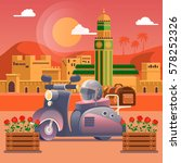 travel concept. travel in...   Shutterstock .eps vector #578252326