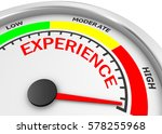 experience level to maximum... | Shutterstock . vector #578255968