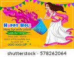 vector design of indian people...   Shutterstock .eps vector #578262064