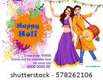 vector design of indian people... | Shutterstock .eps vector #578262106