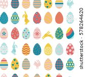 seamless pattern with colorful... | Shutterstock .eps vector #578264620
