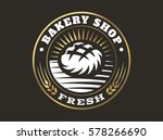 bread logo   vector...   Shutterstock .eps vector #578266690