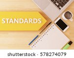 standards   linear text arrow... | Shutterstock . vector #578274079
