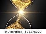 hourglass  abstract magic sand... | Shutterstock .eps vector #578276320