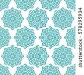 arabic pattern. indian  islamic ... | Shutterstock .eps vector #578295934