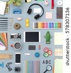 creative items handy crafts... | Shutterstock . vector #578307136