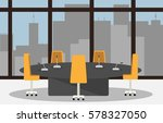 illustration of a conference... | Shutterstock .eps vector #578327050