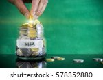 preparation for future and... | Shutterstock . vector #578352880