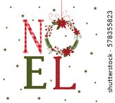 Noel Design With Christmas...