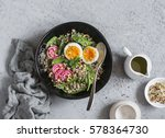 Spinach Breakfast Salad With...