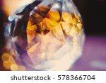 magic glass   crystal bead... | Shutterstock . vector #578366704