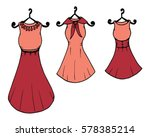 fashion boutique  stylized... | Shutterstock .eps vector #578385214