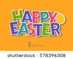 concept for holiday vector... | Shutterstock .eps vector #578396308