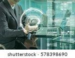 closeup asian businessman hand...   Shutterstock . vector #578398690