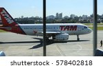 Airbus From Tam Airline Is See...