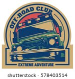 off road car logo  safari suv ... | Shutterstock .eps vector #578403514