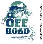 off road car logo  safari suv ... | Shutterstock .eps vector #578403658