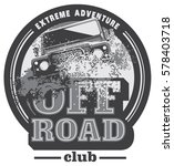 off road car logo  safari suv ... | Shutterstock .eps vector #578403718