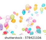 white background a lot of... | Shutterstock . vector #578421106