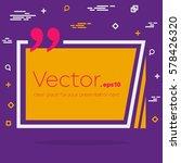 abstract concept vector empty... | Shutterstock .eps vector #578426320