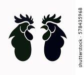cock  icon. vector design.   Shutterstock .eps vector #578435968
