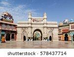 bollywood park at dubai parks... | Shutterstock . vector #578437714