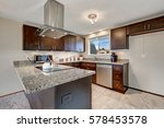 newly renovated kitchen boasts... | Shutterstock . vector #578453578