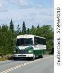 Small photo of ACADIA NATIONAL PARK, MAINE, USA - JULY 25, 2016: Acadia National Park Tours Bus