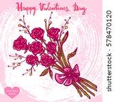 vector hand drawn illustration...   Shutterstock .eps vector #578470120