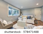 cozy living room space with... | Shutterstock . vector #578471488