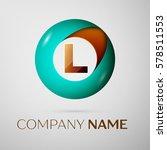 letter l vector logo symbol in... | Shutterstock .eps vector #578511553