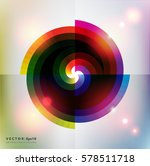 abstract vector background.... | Shutterstock .eps vector #578511718