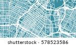 detailed vector map of los...   Shutterstock .eps vector #578523586