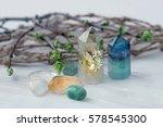 gemstones crystal minerals for... | Shutterstock . vector #578545300