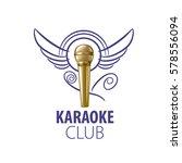 vector logo karaoke | Shutterstock .eps vector #578556094