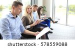 business people waiting for job ... | Shutterstock . vector #578559088