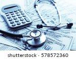 health insurance application... | Shutterstock . vector #578572360