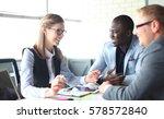 startup business team on... | Shutterstock . vector #578572840