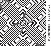 black and white geometric... | Shutterstock .eps vector #578573428