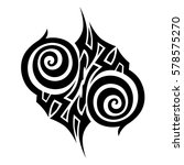 tribal designs. tribal tattoos. ...   Shutterstock .eps vector #578575270