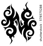 tribal designs. tribal tattoos... | Shutterstock .eps vector #578575288