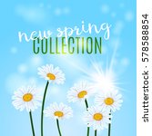 new spring collection design.... | Shutterstock .eps vector #578588854