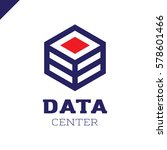 big data cube and technology... | Shutterstock .eps vector #578601466