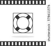 lifebuoy vector icon. | Shutterstock .eps vector #578611576