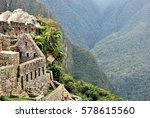machu picchu in the region of...   Shutterstock . vector #578615560