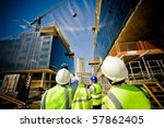 building under construction... | Shutterstock . vector #57862405