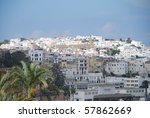 Old town of Tanger, Morocco - stock photo