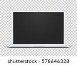 open notebook template  silver... | Shutterstock .eps vector #578646328